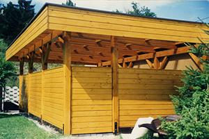 Ihr Carport von Holzbau Gschaider GesmbH aus Niederösterreich