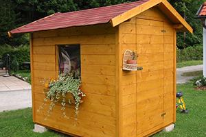 Gartenhäuser von Holzbau Gschaider aus Niederösterreich